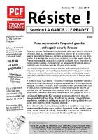 RESISTE N°10 LA GARDE LE PRADET Juin/ juillet