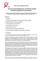 Texte Alternatif n°1- Renforcer le PCF