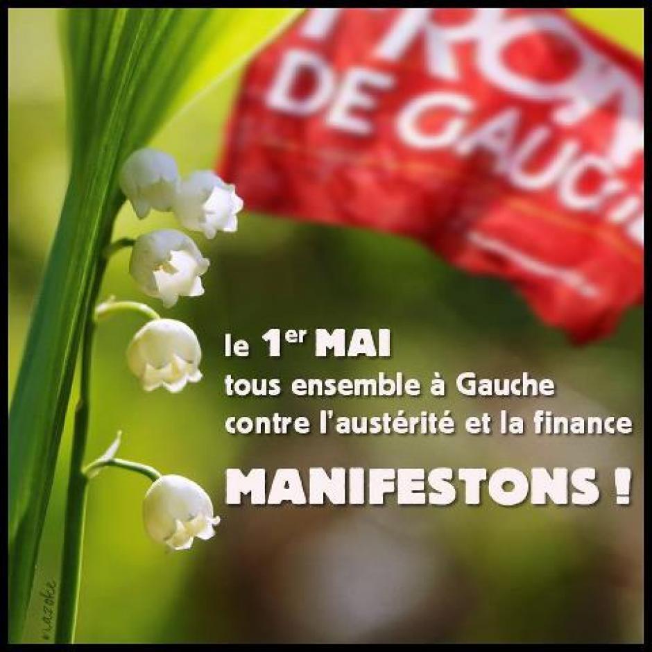 Muguet à La Garde et au Pradet, manif à Toulon !