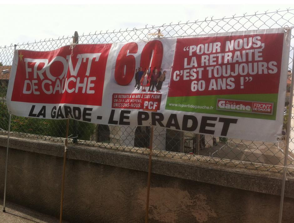 A l'appel des organisations syndicales MANIFESTATION RETRAITES mardi 15 octobre 10h 30 place de laLiberté à Toulon