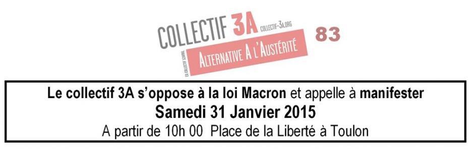 Non à la loi Macron