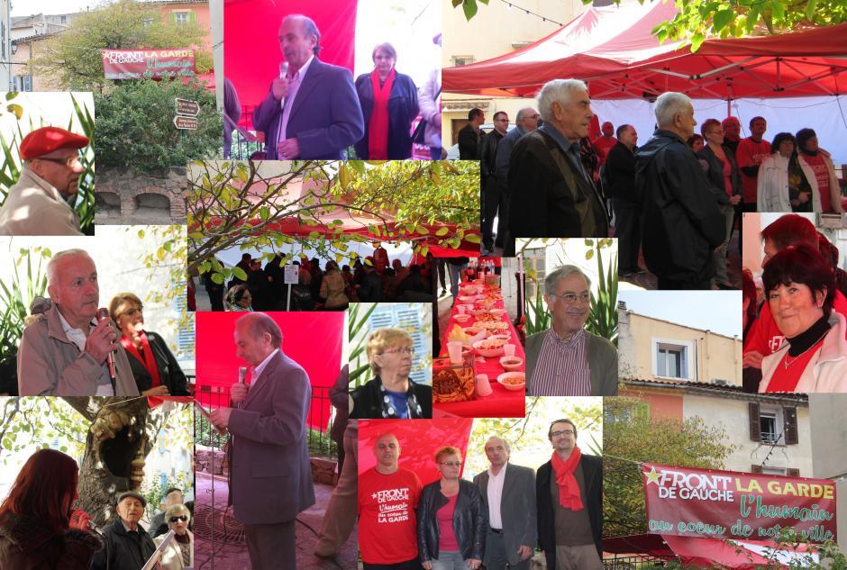 NON à l'austérité dans notre commune , le FDG avec Michel Camatte à l'offensive
